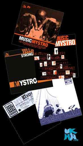 Mystro - Record Covers