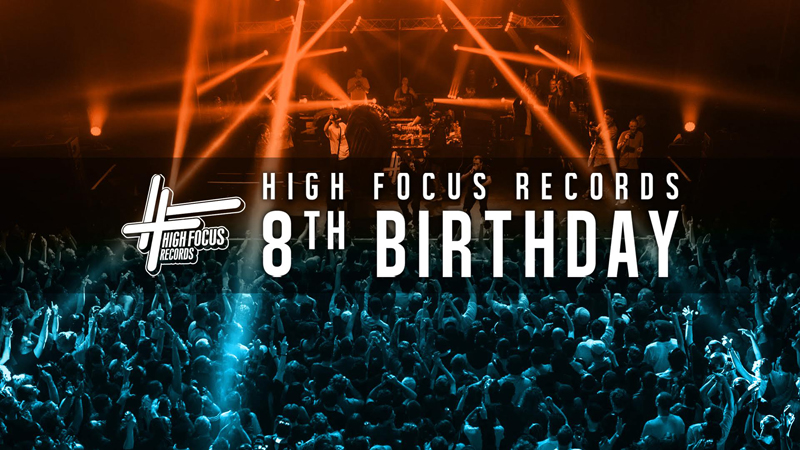 High Focus 8th Birthday
